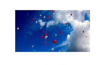 Joyeuse Saint Valentin Horizon Bleu