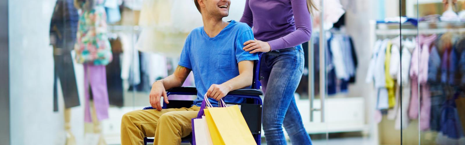 Déplacement extérieur Personnes en situation de handicap adulte ou enfant