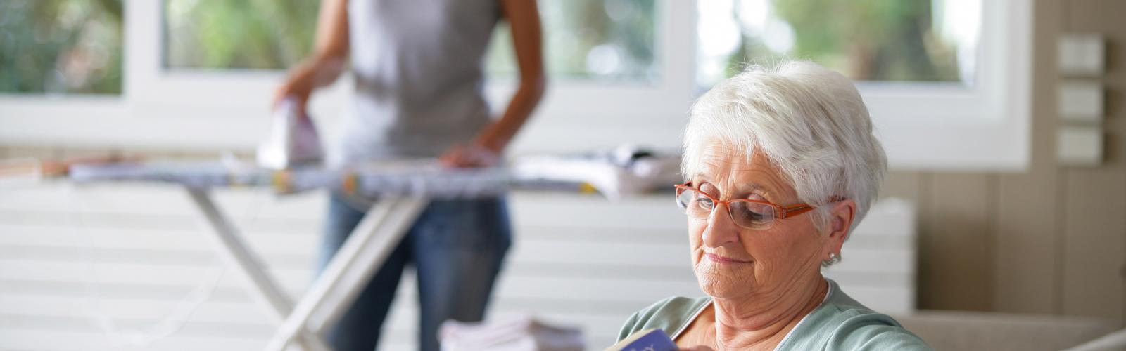 Aide ménagère pour personnes agées